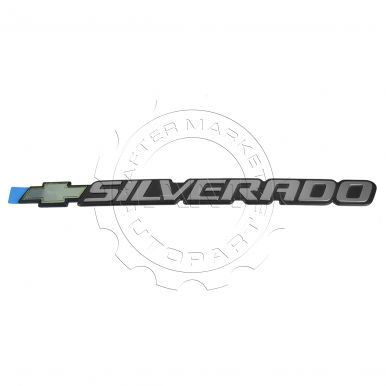 chevy silverado 2500 hd nameplate am autoparts. Black Bedroom Furniture Sets. Home Design Ideas