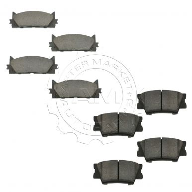 lexus es350 brake pads am autoparts. Black Bedroom Furniture Sets. Home Design Ideas