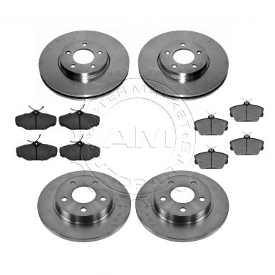 lincoln continental brake pad rotor kit am autoparts. Black Bedroom Furniture Sets. Home Design Ideas