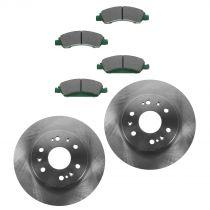 2008 - 2013 Chevy Avalanche 1500 Front Brake Pad & Rotor Kit Ceramic