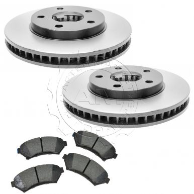 2004 buick regal front brake pad rotor kit ceramic raybestos am price ...