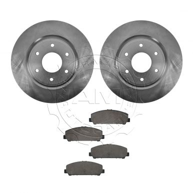 2006 Nissan Armada Front Brake Pad & Rotor Kit (Built After 10/01/05 Production Date) Ceramic