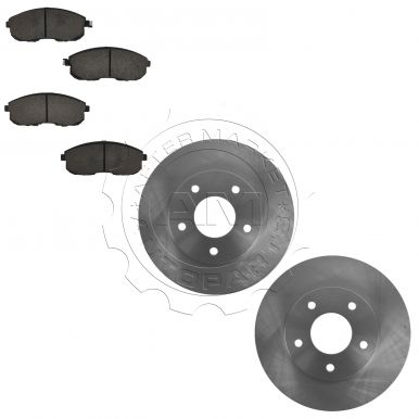 2007 - 2008 Suzuki SX4 Front Brake Pad & Rotor Kit Ceramic