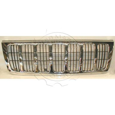 1999 - 2000 Jeep Grand Cherokee Laredo Chrome & Black Grille