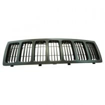 2008 - 2010 Jeep Grand Cherokee Black (Paint to Match) Grille