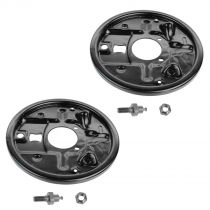 1983 - 1991 Chevy Blazer S10 Rear Brake Backing Plate for Models with 9 1/2 Inch Drum Brake Pair