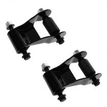 2000 - 2003 Ford F150 Truck Under 7700LB GVW for Models Leaf Spring Shackle Repair Kit Rear Pair