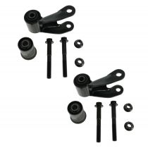1999 - 2012 Chevy Silverado 1500 Rear Leaf Spring Shackle Repair Kit Pair