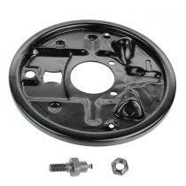 1983 - 1991 Chevy Blazer S10 Rear Brake Backing Plate for Models with 9 1/2 Inch Drum Brake