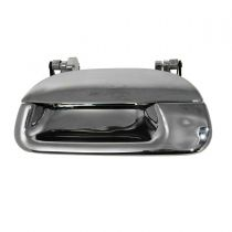 1997 - 1999 Ford F250 Truck Light Duty Chrome Tailgate Handle (Under 8500LB GVW) without Lock Provision