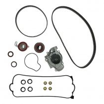 1990 - 1997 Honda Accord Timing Belt Kit with Water Pump, Valve Cover Gasket & Seals for L4 2.2L (excluding VTEC)