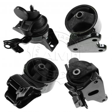 2003 - 2005 Hyundai Tiburon Engine & Transmission Mount Kit (Set of 4) for L4 2.0L Manual Transmission