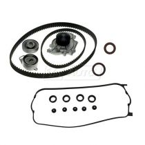 1998 - 2002 Honda Accord Timing Belt Kit with Water Pump, Valve Cover Gasket & Seals for L4 2.3L