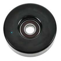 1991 - 1996 Mercury Tracer Smooth Serpentine Belt Idler Pulley for L4 1.9L with Air Conditioning