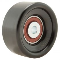 1996 - 2000 Jeep Cherokee Serpentine Belt Idler Pulley (Smooth) for L4 2.5L (8th Vin Digit P) (excluding Adjustable)