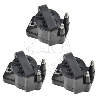 1992 - 2003 Pontiac Bonneville   Ignition Coil (Set of 3) for V6 3.8L Supercharged (8th Vin Digit 1) (AC Delco)