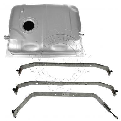 jeep wrangler fuel tank with strap set am autoparts. Black Bedroom Furniture Sets. Home Design Ideas