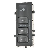 2001 - 2002 Chevy Suburban 2500 Dash Mounted Four Wheel Drive Switch (without Automatic 4 Wheel Drive)