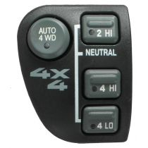1998 - 2004 Chevy S10 Pickup Dash Mounted Four Wheel Drive Switch for Models with Automatic 4WD