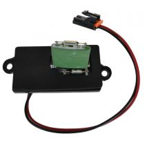 2003 - 2006 Chevy Suburban Front Blower Motor Resistor 2 Hole Mounting Flange (without Automatic Temperature Control)