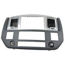 2006 - 2008 Dodge Ram 1500 Truck Dark Gray Dash Navigation Radio Bezel (Mopar)