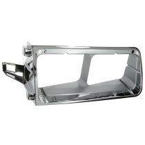 1990 - 2007 Freightliner FLD 120 Chrome Headlight Bezel Passenger Side