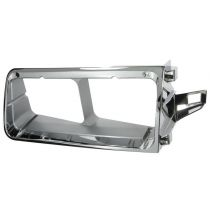 1990 - 2007 Freightliner FLD 120 Chrome Headlight Bezel Driver Side