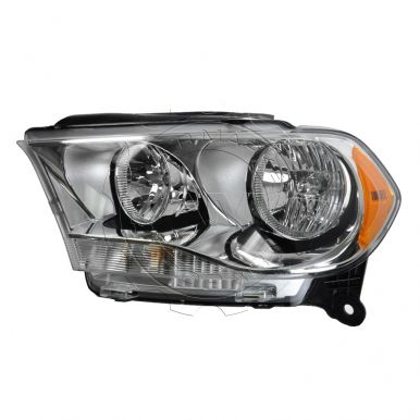 2011 2012 dodge durango halogen headlight with chrome. Black Bedroom Furniture Sets. Home Design Ideas