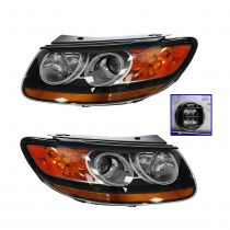 2012 Hyundai Santa Fe Headlight Pair (Built Before 7/25/11 Production Date)