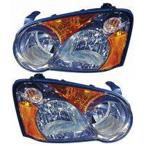2004 Subaru Impreza WRX STi   Halogen Headlight Pair