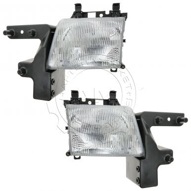 1998 - 2003 Dodge Van Headlight Pair
