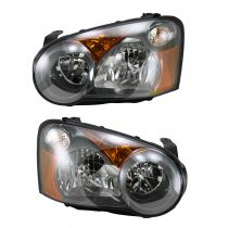 2005 Subaru Impreza WRX STi   Halogen Headlight Pair