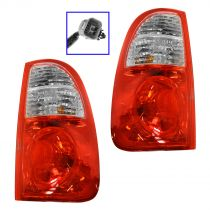 2005 - 2006 Toyota Tundra Tail Light Pair (excluding Stepside Models) (excluding Double Cab)