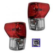 2010 - 2013 Toyota Tundra Tail Light Pair