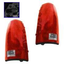 1988 - 1998 Chevy C2500 Truck Tail Light with Circuit Board Pair