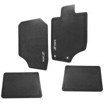 2010 - 2012 Lincoln MKZ Black Charcoal Carpet Floor Mat (Set of 4) Ford CH6Z-5413300-AA