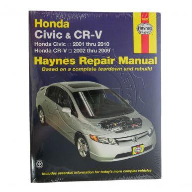 honda cr v haynes repair manual am autoparts. Black Bedroom Furniture Sets. Home Design Ideas