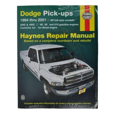 dodge ram 3500 truck haynes repair manual am autoparts. Black Bedroom Furniture Sets. Home Design Ideas