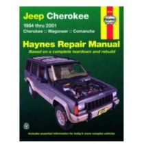 1984 - 2001 Jeep Cherokee Haynes Repair Manual
