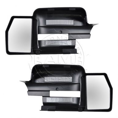 2009 - 2012 Ford F150 Truck   Manual Clip On Mirror Extension Pair