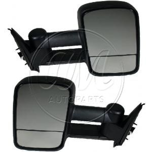 2001-06 Chevy Tahoe Manual Telescoping Towing Mirror Pair