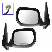 2006 - 2014 Suzuki Grand Vitara Power (Paint to Match) Mirror Pair