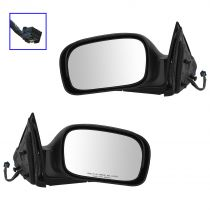 2006 - 2008 Chrysler Pacifica Power Heated Memory (Paint to Match) Mirror Pair
