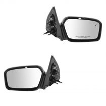 2010 - 2012 Ford Fusion Power Heated Mirror with Blind Spot Monitor and Puddle Light Pair Ford 9E5Z-17683-B, 9E5Z-17682-B
