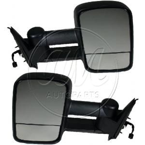 2000-02 Chevy Suburban Power Heated Towing Mirror Pair