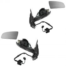 2006 - 2008 Audi A3 Power Heated (Paint to Match) Mirror Pair