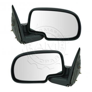 2001 - 2003 Chevy Silverado 1500 HD Manual Mirror Pair