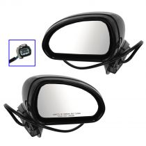 2006 - 2012 Mitsubishi Eclipse Power Heated (Paint to Match) Mirror Pair