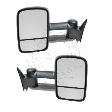 2000 Chevy Tahoe Mirror for V8 5.7L Manual Towing Telesco...