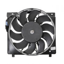1995 - 1996 Jeep Cherokee Radiator Cooling Fan Assembly for L6 4.0L